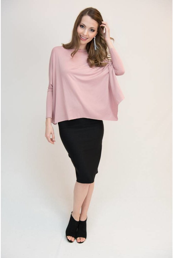Mayas Place Eden Top Mauve
