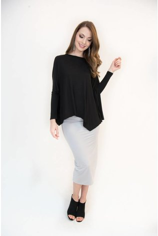 Mayas Place Eden Top Black