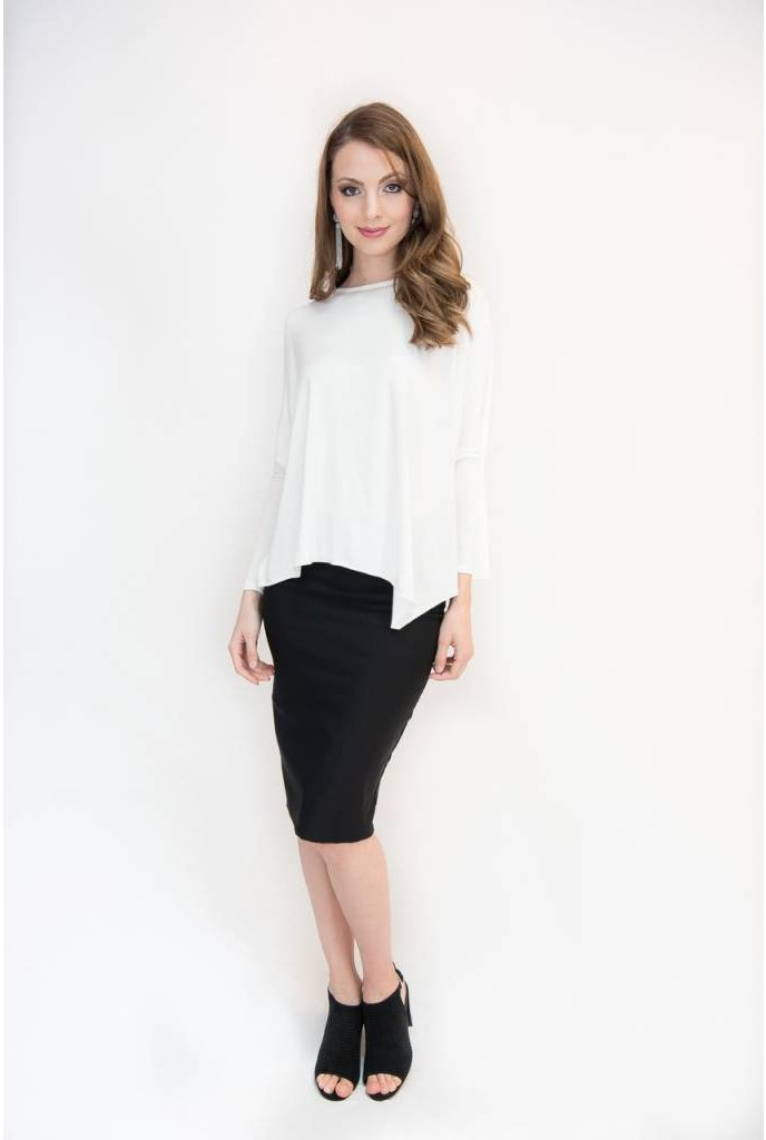 Mayas Place Eden Top Ivory