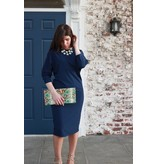 Mayas Place Mindy Dress Navy