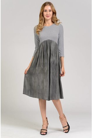 Sheek Rena Dress Grey