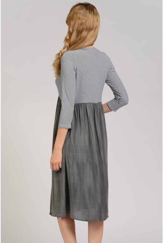 Sheek Rena Dress Grey