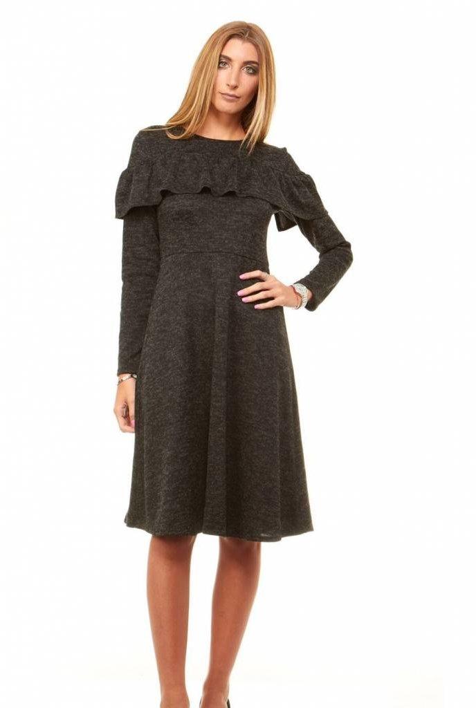 Bella Donna Cold Shoulder Maxi Dress