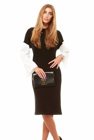 Bella Donna Poplin Sleeve Dress