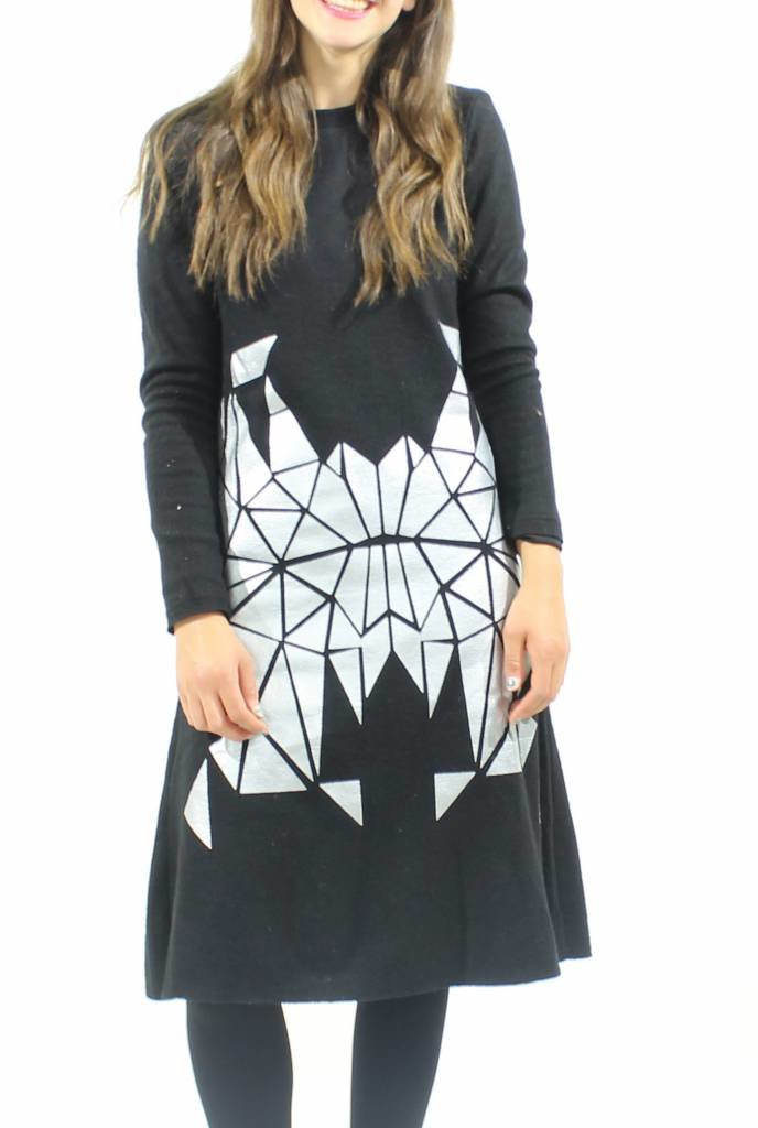 MW Wool Mirrored Dress