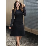 Front Row Couture Studded Sleeve Dress