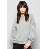 FATE Balloon Sleeve Sweatshirt
