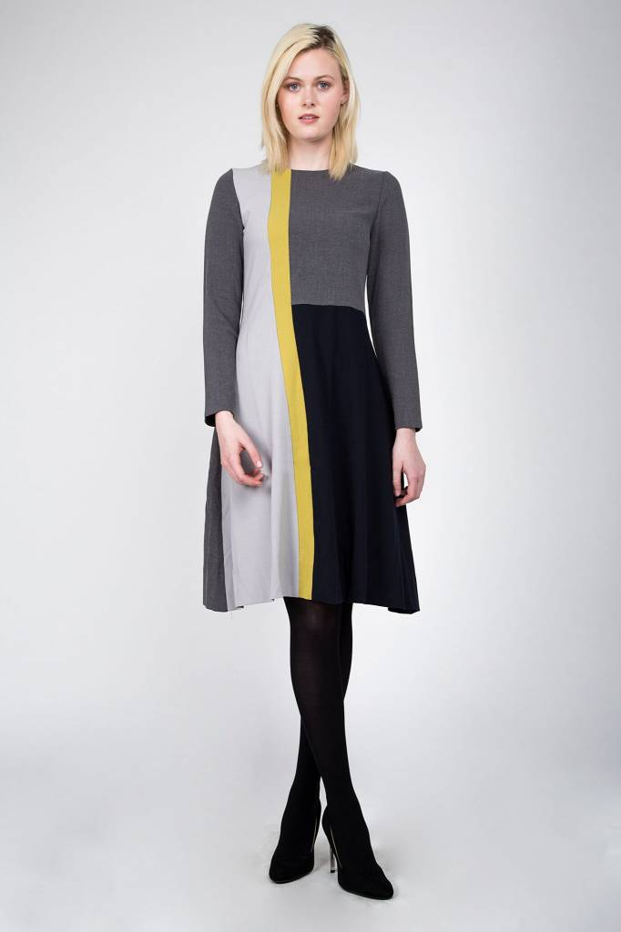 Maple and Cliff The Focus Line Dress