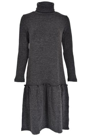 Tweed Rib Dress