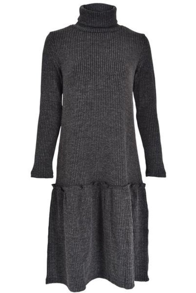 Tweed Rib Dress