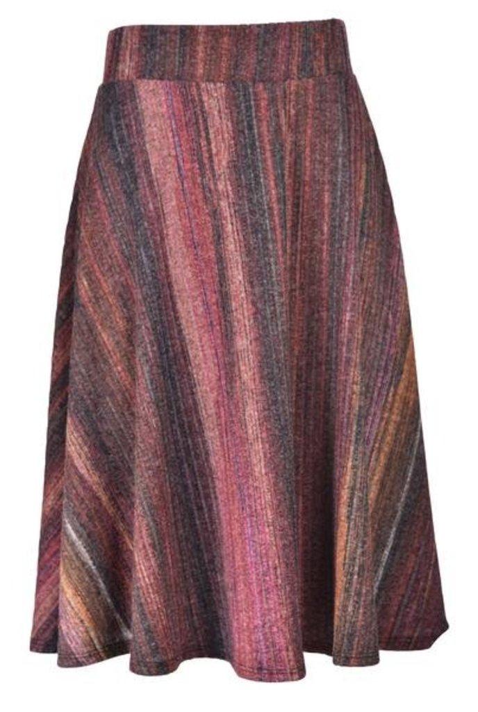 Tulip Stripe Sweater Skirt