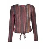 Tulip Stripe Sweater Top
