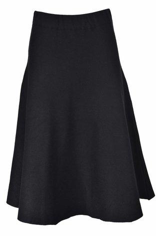 Junee Knit Skirt Black