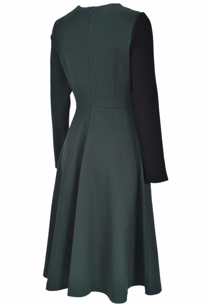 Blush Color Block Dress