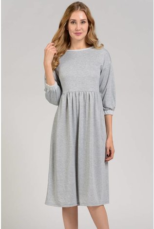 Sheek French Terry Dress