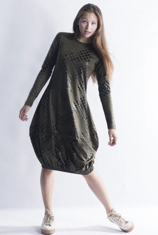 Naomi Checkered Dress