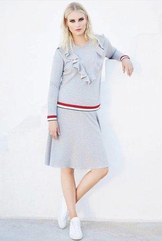 Pashmina Pashmina Ruffle Sweatshirt Set- see more colors!