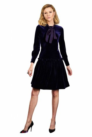 Apparalel Shira Velvet Dress- See more colors!