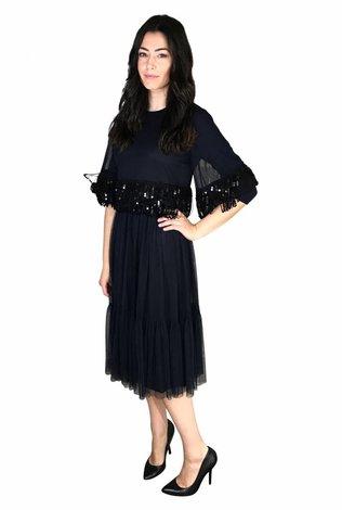 touch Tule Sequin Dress