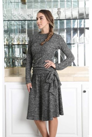 Go Couture Ribbed Sweater Set