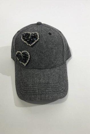 Heart Chevron Cap