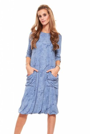 Bella Donna Mineral Wash Pocket Dress