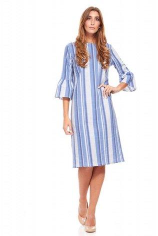 Linen Stripe Dress