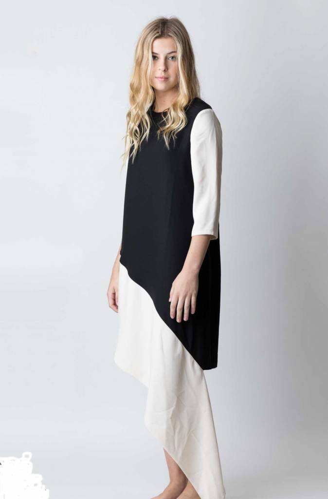 Diagnal Dress