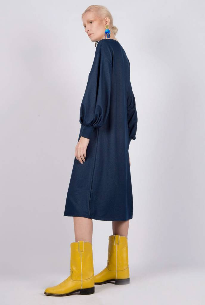 Ruti Horn Indigo Globo Dress