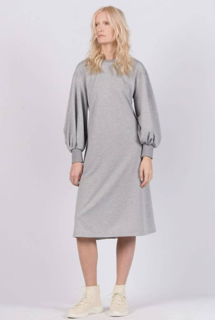 Ruti Horn Gray Globo Dress