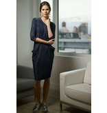 Apparalel Draped Jersey Dress
