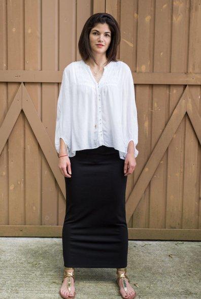 the slim skirt maxi sheek iconic fashion