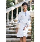 Ricciel Gray Bubble Sleeve Set