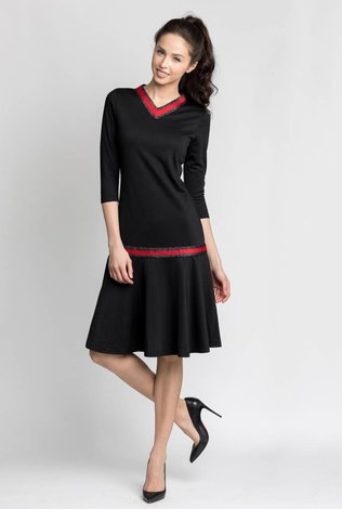 Bliss Gucci Dress Black/Red