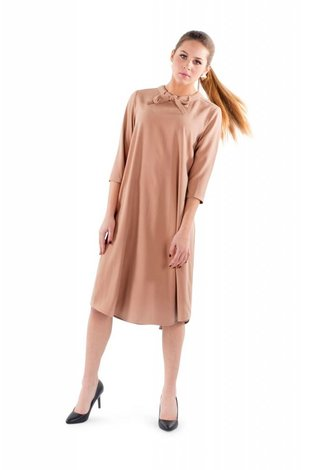 Deela Peach Grace Dress