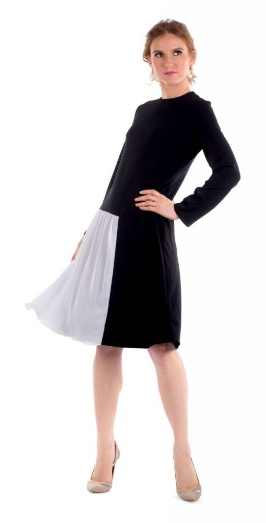 Deela Black Banquet Dress