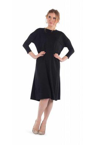 Deela Black Tee Dress