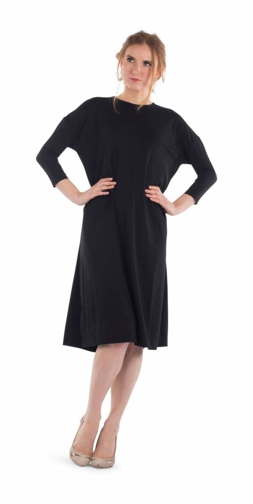 Deela Black Tee Dress