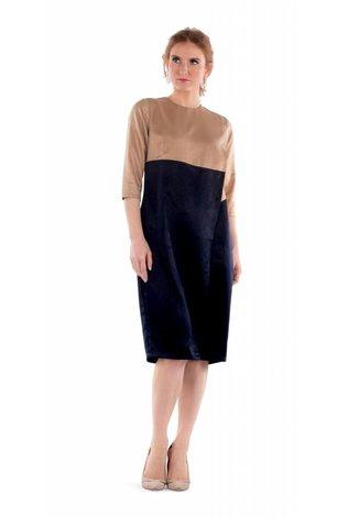 Deela Silk Wrap Dress