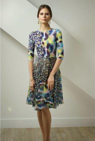 Apparalel Pastel Watercolor Dress