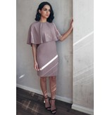 Ellie Makir Rose Cape Dress