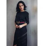 Ellie Makir Ellie Hi Low Dress Black