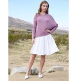 Third Lavender Asymmetric Sweater