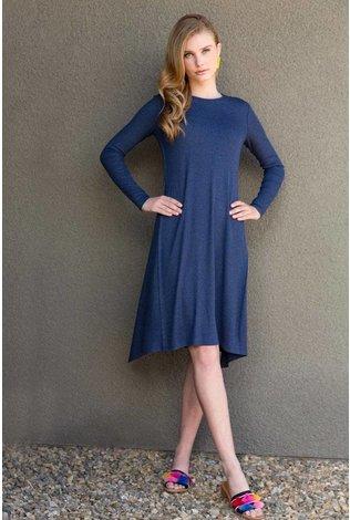 Third Ribbed Wave Dress