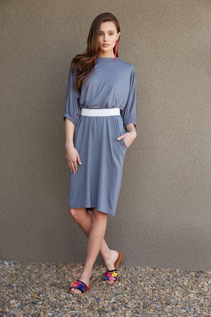 Third Dress with Elastic Sleeve