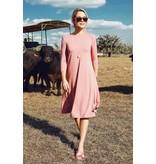 Pashmina Pink Classic Swing Dress