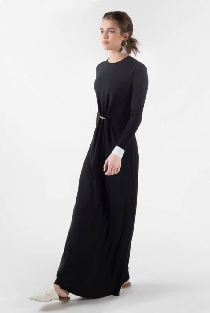 Pashmina Pin Dress Maxi