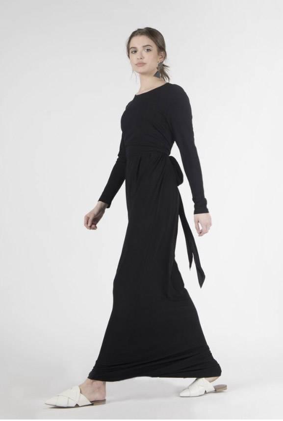 Pashmina Dress with Wrap Top