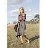 Pashmina Gray Classic Dip Dress