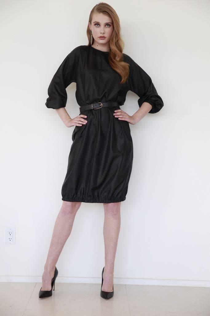 Third Black Metallic Dress